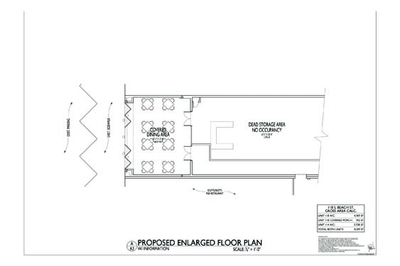 118 S. Beach Street Floor Plan 2