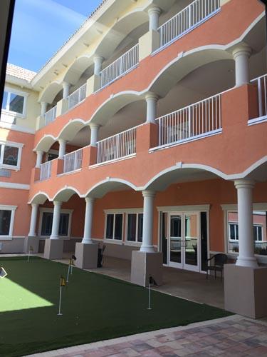 Heritage Waterside ALF Daytona Beach Courtyard Building