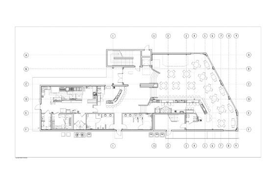 Barracudas Restaurant 1st floor Floor Plan