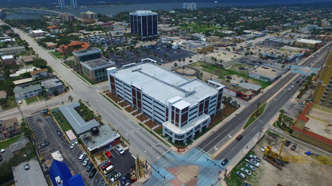 Daytona Parking Garage Completed Project 2