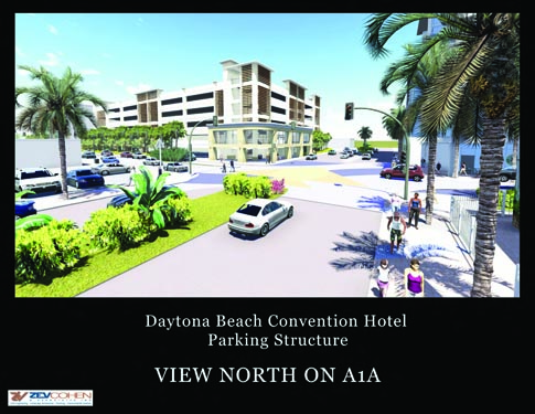 Daytona Parking Garage Project Rendering 1