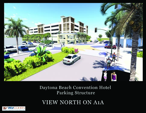 Daytona Parking Garage Project Rendering 2
