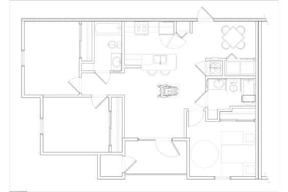 Eagle Landing Phase 1 Gulf Stream Floor Plan 1