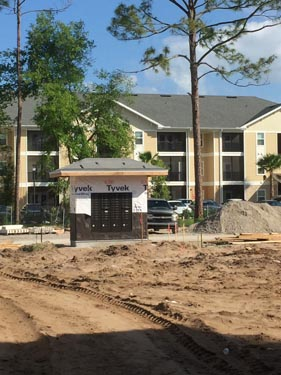 Eagle Landing Phase 2 Construction Site Courtyard 3