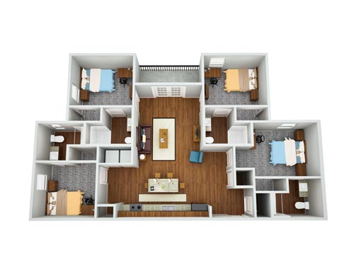 Eagle Landing Phase 2 Floor Plan 1
