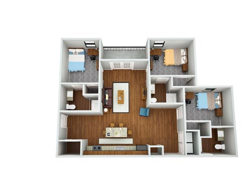 Eagle Landing Phase 2 Floor Plan 2