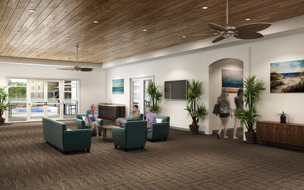 Eagle Landing Phase 2 Rendering of residential interior 3