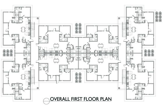 Eagle Landing Phase 2 1st Floor Plan