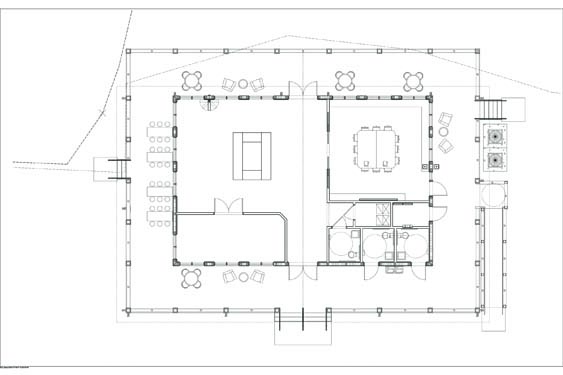 Environmental Learning Center Floor Plan