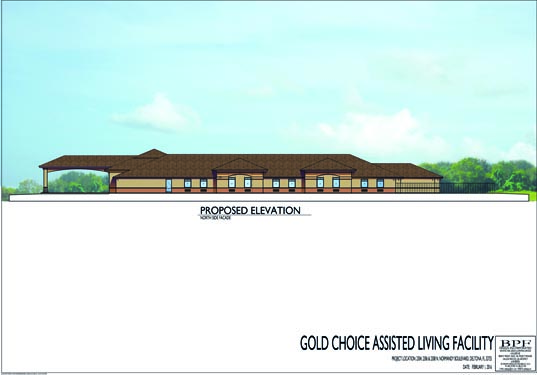 Gold Choice ALF Deltona Proposed Side 2 Elevations
