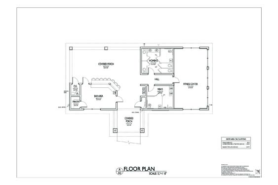 Grand Landing Clubhouse Floor Plan