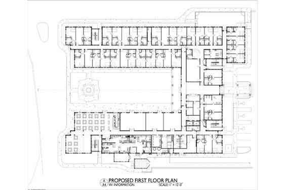 Heritage Waterside ALF Daytona Beach 1st floor Floor Plan 1