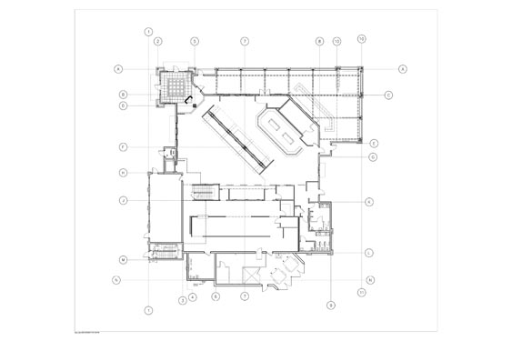Houligans Restaurant and Bar 1st floor Floor Plan