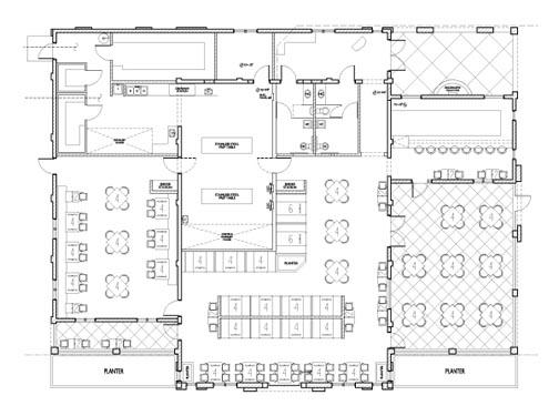 Maria Bonitas Restaurant Floor Plan 2