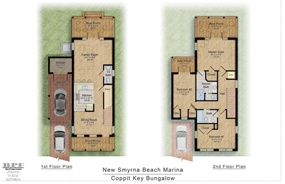 NSB Marina Coppit Key Bungalow Floor Plan 2