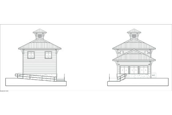 NSB Marina Store Elevations