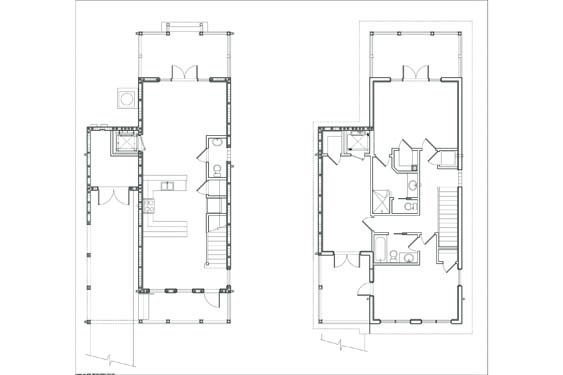 NSB Marina SDSK Bungalow Floor Plan