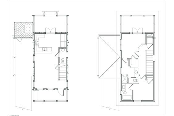 NSB Marina SK Bungalow Floor Plan 1