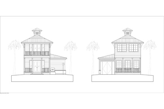NSB Marina Key Largo Bungalow Elevations 4