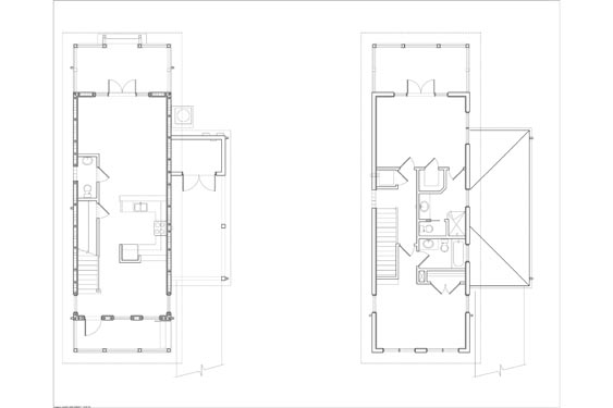 NSB Marina Key West Bungalow Floor Plan