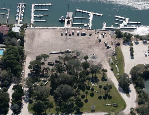 NSB Marina aerial Construction Photo 5
