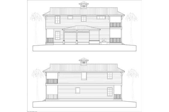 NSB Marina Key West Bungalow Elevations 5