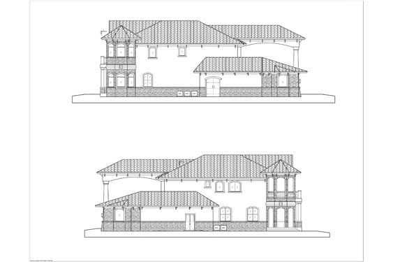 Phillips Residence Elevations