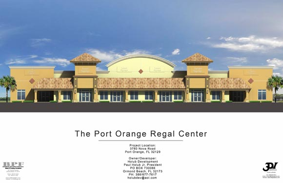Port Orange Regal Center Rendering