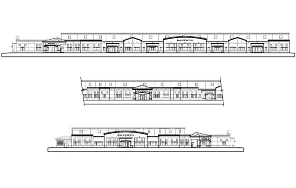 Raydon Headquarters Project Elevations