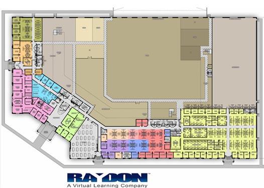 Raydon Headquarters Project Blue Prints
