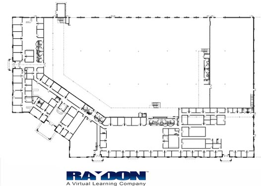 Raydon Headquarters Project Site Map