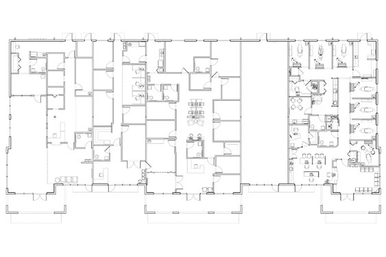 Realty Pros Office Building Project Floor Plan