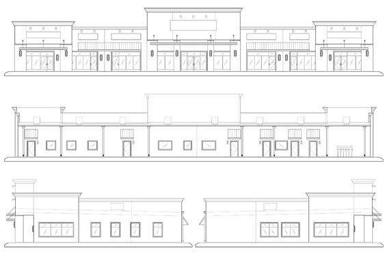 Realty Pros Office Building Project Elevations