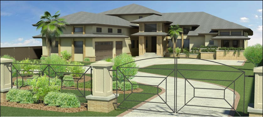 Russell Private Residence Rendering