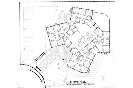 Sarah House ALF Ormond Beach Floor Plan