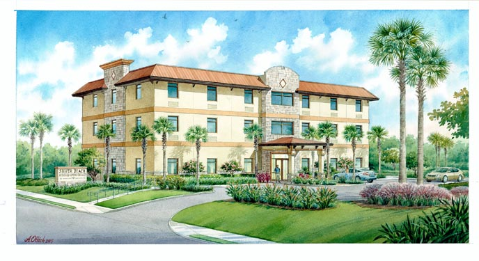 Silver Beach ALF 3 Story Project Project Rendering