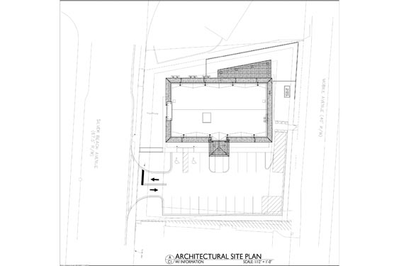 Silver Beach ALF 3 Story Project Project Site Map