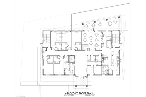Silver Beach ALF 3 Story Project Project Floor Plan 1