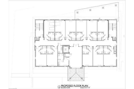 Silver Beach ALF 3 Story Project Project Floor Plan 2