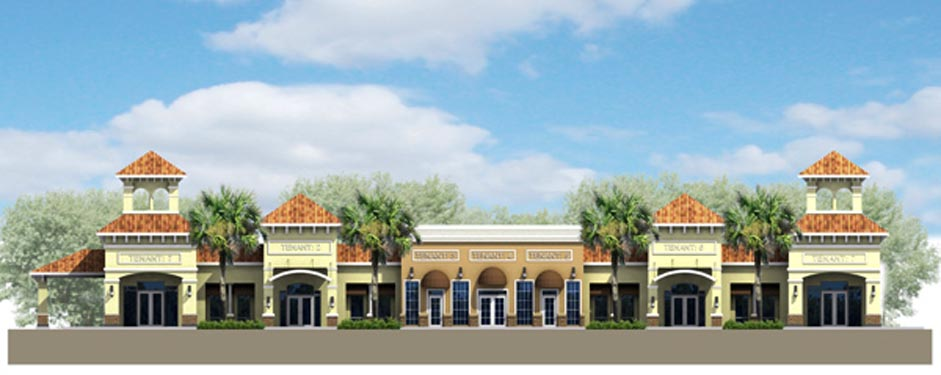 Southwinds Shoppes Rendering