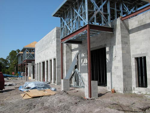 Southwinds Shoppes Construction Site 1