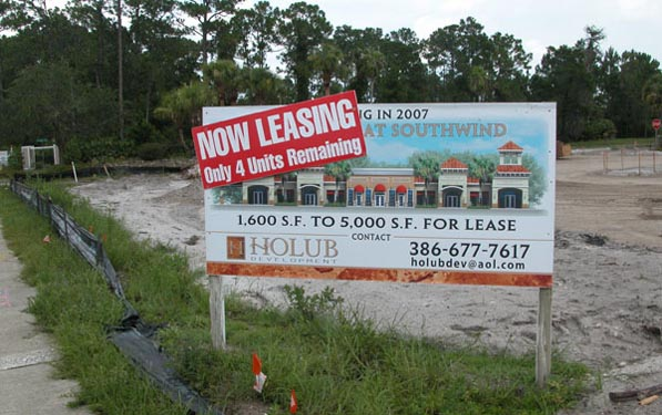 Southwinds Shoppes Construction Site Now Leasing
