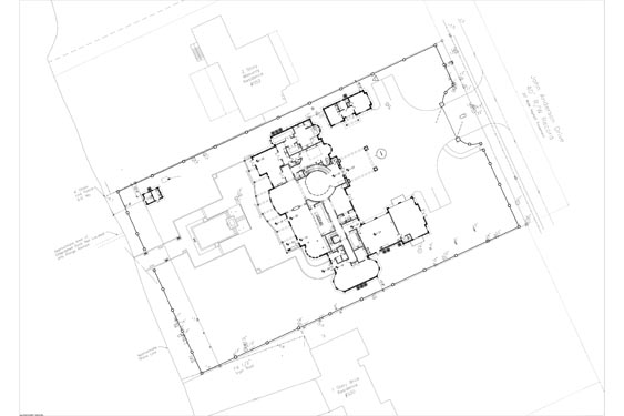 Yeoman Residence Site Map