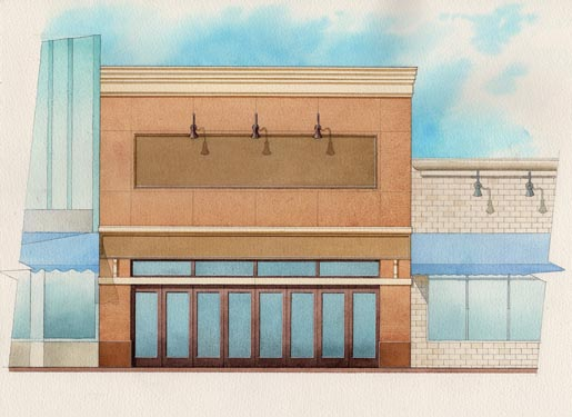 118 S. Beach Street Building Rendering