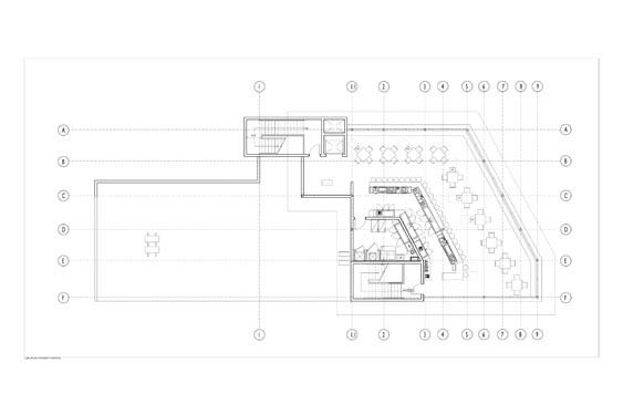 Barracudas Restaurant 2nd floor Floor Plan