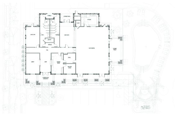 Briarwood Clubhouse Floor Plan