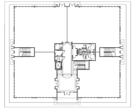 Concierge Business Center Project 1st floor Floor Plan