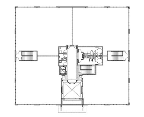 Concierge Business Center Project 2n floor Floor Plan