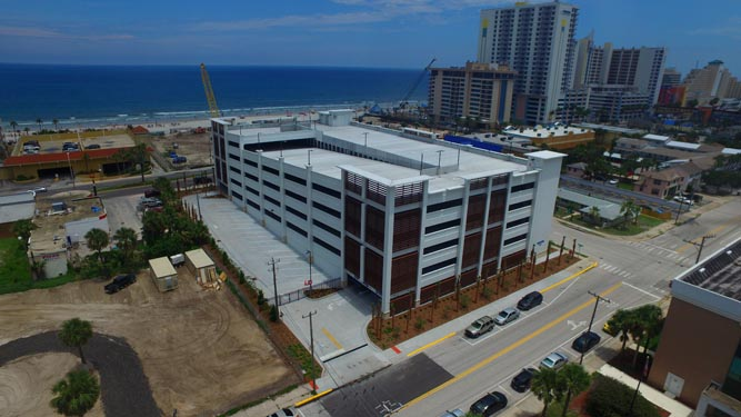 Daytona Parking Garage Completed Project 1