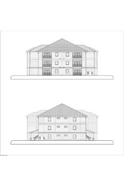 Eagle Landing Phase 1 Side Elevations